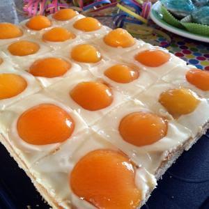 Rezept für Spiegeleier-Kuchen