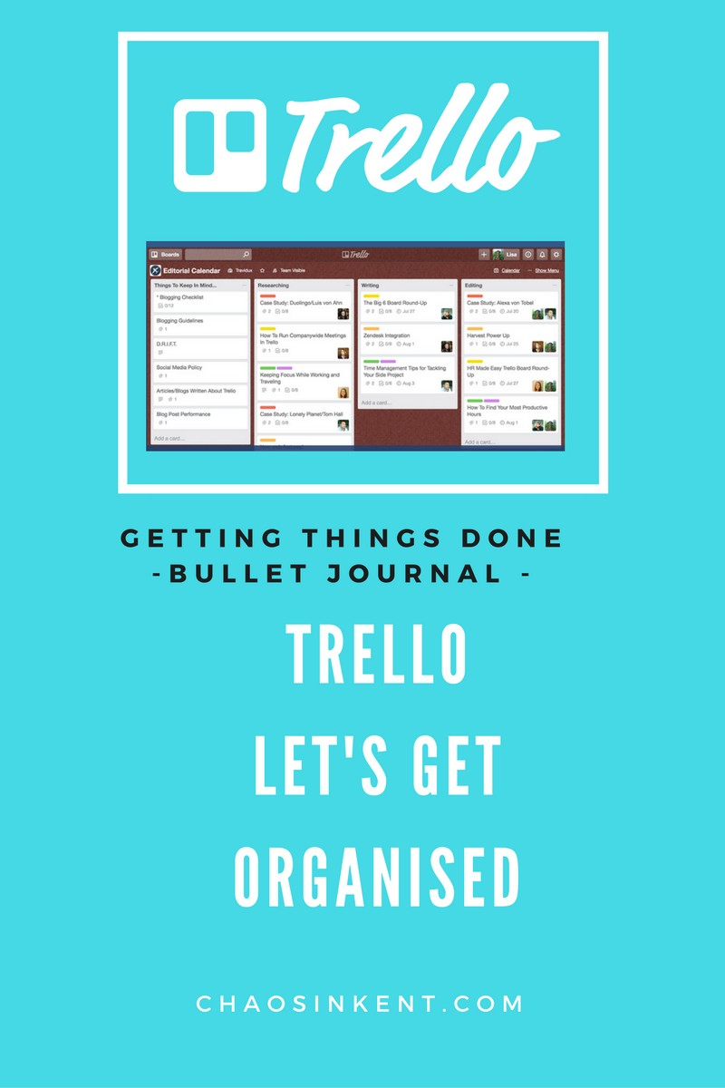 Trello:  Top Tips to get organised with Trello