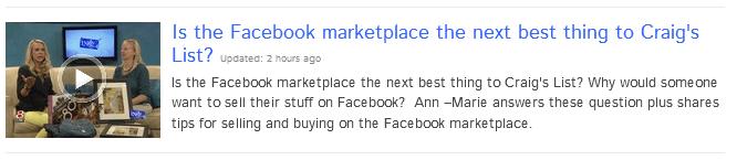 Facebook Marketplace Tips