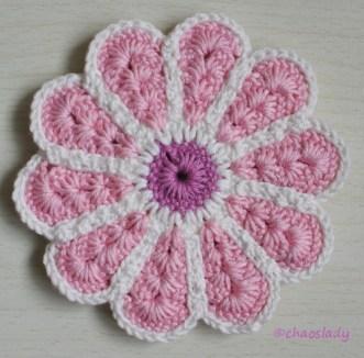 rosa/weiß/flieder