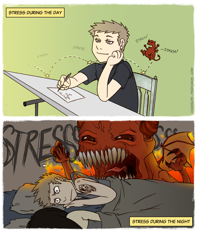 The Stress Imp