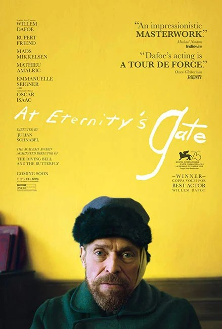 AT ETERNITY'S GATE Trailer (Willem Dafoe, Rupert Friend, Mads Mikkelsen)