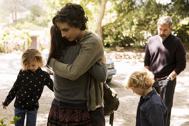 Watch New Trailer For Beautiful Boy With Steve Carell and Timothée Chalamet