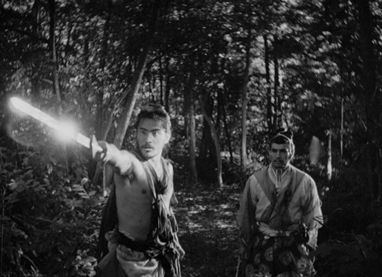 rashomon film trailer, tv-series, akira kurosawaspielbergwatch