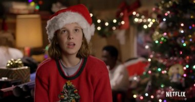 New Video for Stranger Things Kids Wrapping Christmas Gifts: Watch