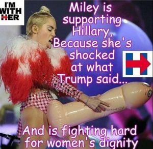 Miley Cyrus huge penis