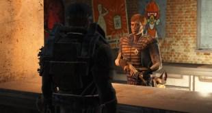 Fallout 4 Dogmeat photobomb