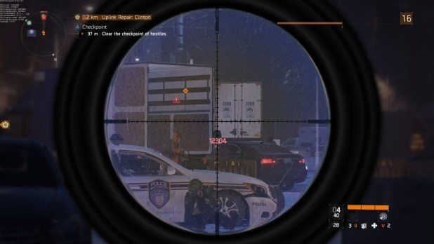 Tom Clancy's the division sniper scope