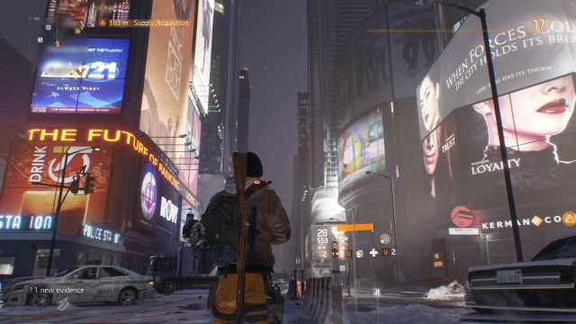 The Division Time Square