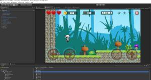 Super Panda in Unity3D