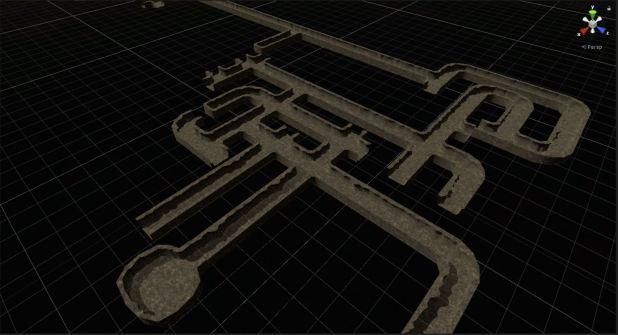 procedural rogue-like dungeon