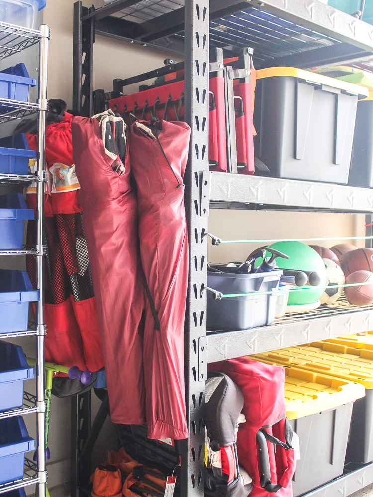 Tips for Organizing A Small Garage - Chaotically Creative on Organized Garage  id=54418