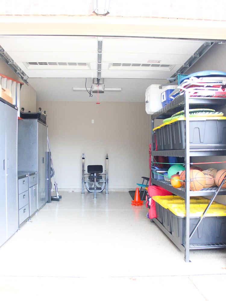 Tips for Organizing A Small Garage - Chaotically Creative on Organized Garage  id=84804