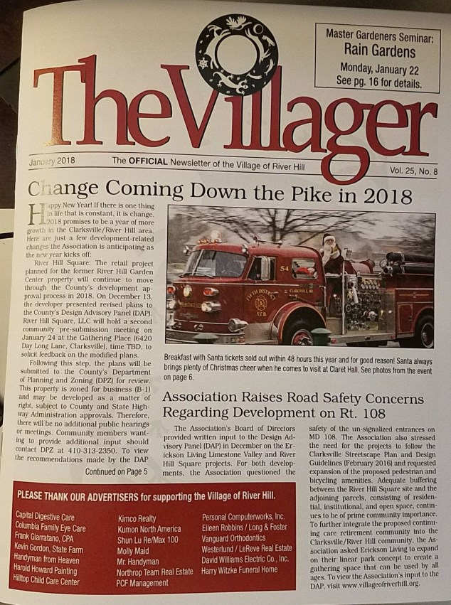 2018-1-The Villager Cover
