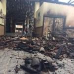 Incêndio destrói Mercado de Artes de Ipirá e  é saqueado por moradores.