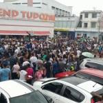 Manifestantes protestam contra reformas da Previdência, trabalhista em Itaberaba