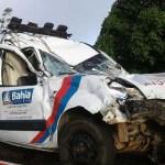 Idosa  levada em ambulância de Palmeiras morre em acidente na BR-116