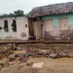 Chuva forte em Lajedinho deixa ao menos 20 desabrigados