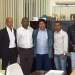 FBF recebe nova diretoria da Liga de Itaberaba