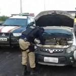 PRF recuperaem Itaberaba veículo roubado em Salvador