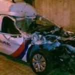Ambulância da cidade de Cafarnaum bate em fundo de caminhão próximo a Ipirá