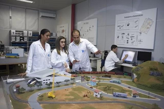 Abertas inscrições para cursos técnicos do Senai; são mais de 6 mil vagas e 646 bolsas de estudo