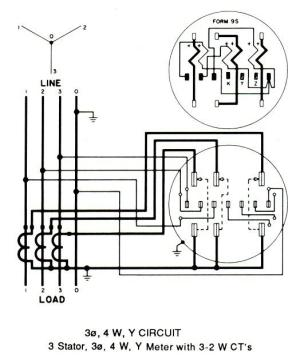 3 Phase Kwh Meter Connection Diagram  Somurich