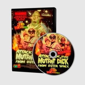 El Ataque del Pene Mutante del Espacio - DVD