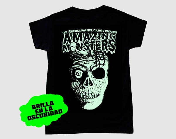 Camiseta de Amazing Monsters que brilla en la oscuridad