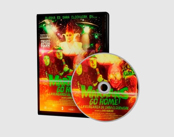 Martians go home! La venganza de Sara Clockwork - DVD