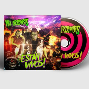 Motorzombis - CD - Están vivos!