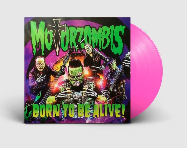 Motorzombis – EP – Born to be alive!