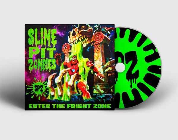 Slime Pit Zombies - CD - Enter the fright zone