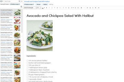 Halibut healthy recipes