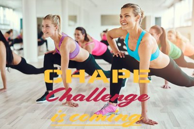 challenge is coming, chape, fitness