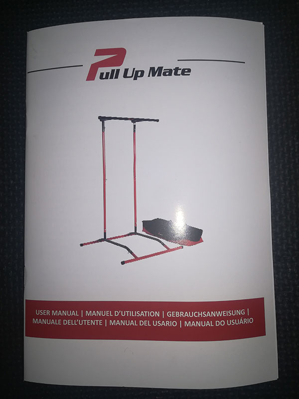 Pull Up Mate User Manual