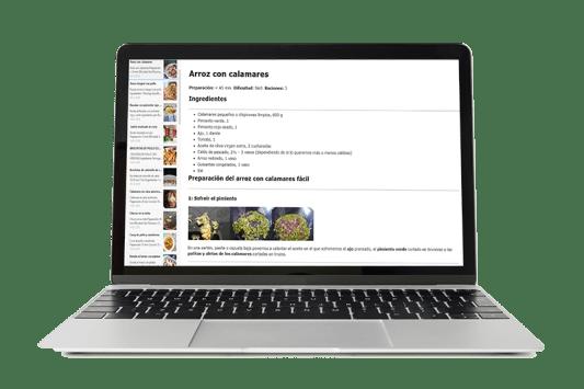 entrenamiento online, recetas, dieta