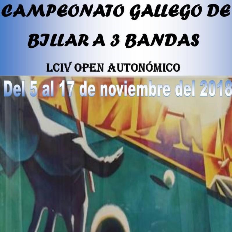 Campeonato Gallego de Billar a 3 bandas