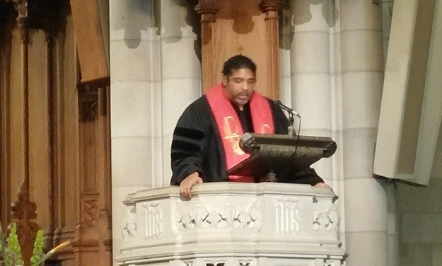 Rev. Barber at Duke Chapel's MLK Celebration: 'No Ways Tired'