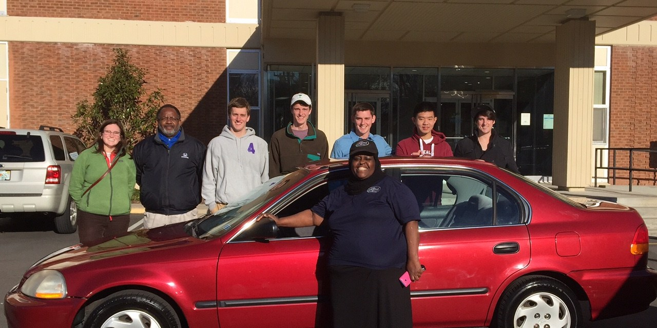 UNC Business Students Turn Profits into Another Car Giveaway