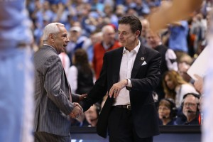 Pitino faced off with Roy in an outstanding coaching matchup (Todd Melet)