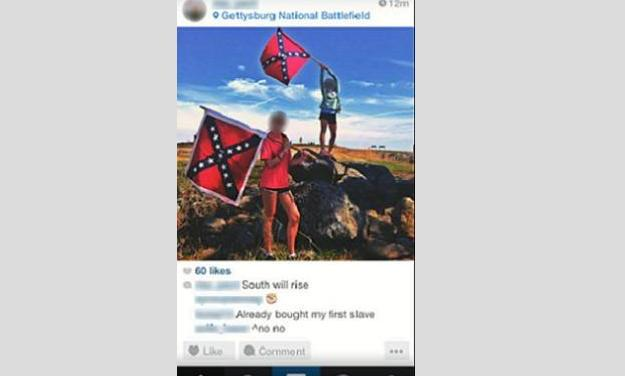 Emotions High After Confederate Flag Picture on Field Trip