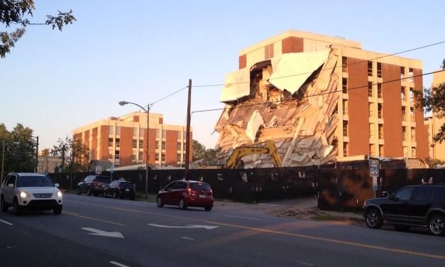 Demolition at U-Square is Underway