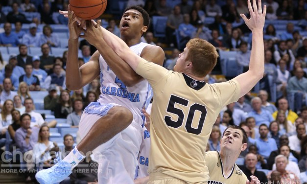 Big Men Dominate as No. 1 UNC Pulls Away From Wofford Late