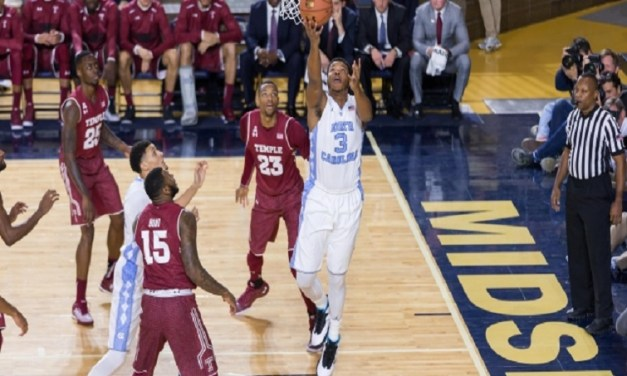 Meeks and the Tar Heels Feeling Good So Far Without Paige