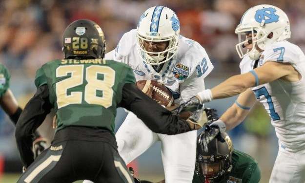 UNC vs. Baylor in Russell Athletic Bowl