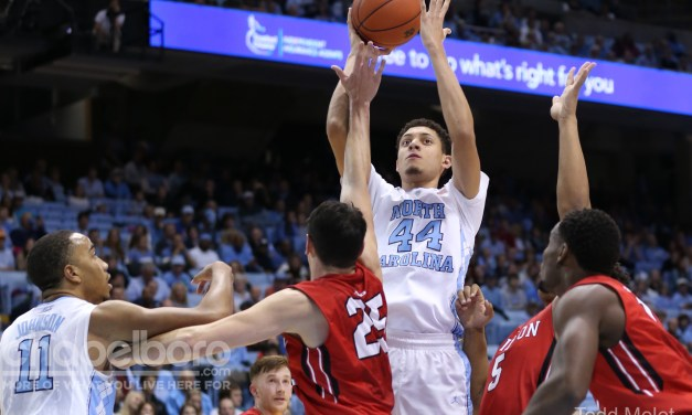 No. 9 UNC Lays the Smackdown on Davidson, 98-65