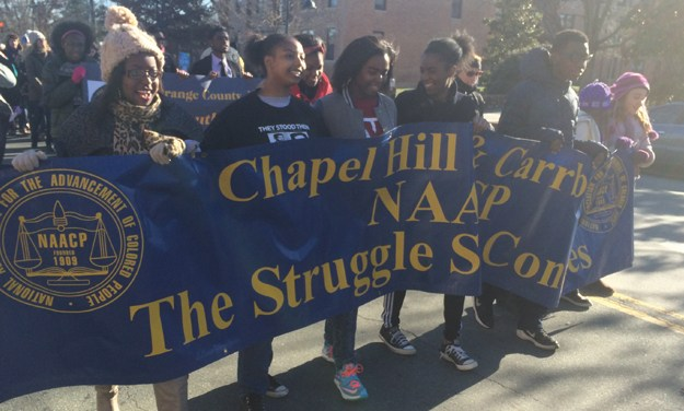 State NAACP Protests General Assembly Ahead of Redistricting Meetings