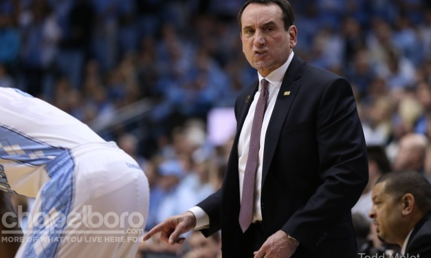 Coach K to Undergo Back Surgery, Could Miss At Least Four Weeks