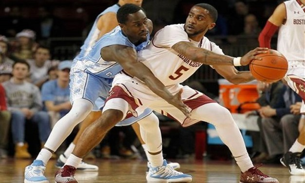 Tar Heels Rally to Beat BC After Williams' Vertigo Scare